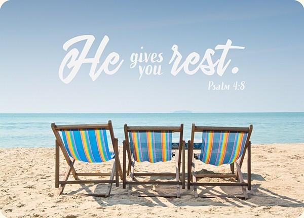 "Postkarte - Big Blessing ""Rest"""