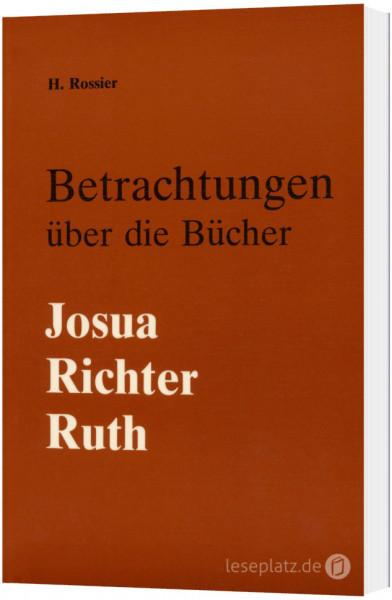 Betrachtungen über die Bücher Josua, Richter und Ruth