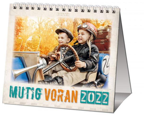 Mutig voran 2022 - Postkartenkalender