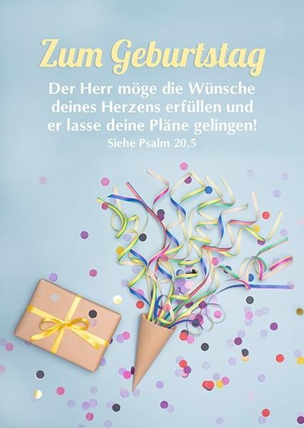 """Postkarte """"Wünsche deines Herzens"""""""
