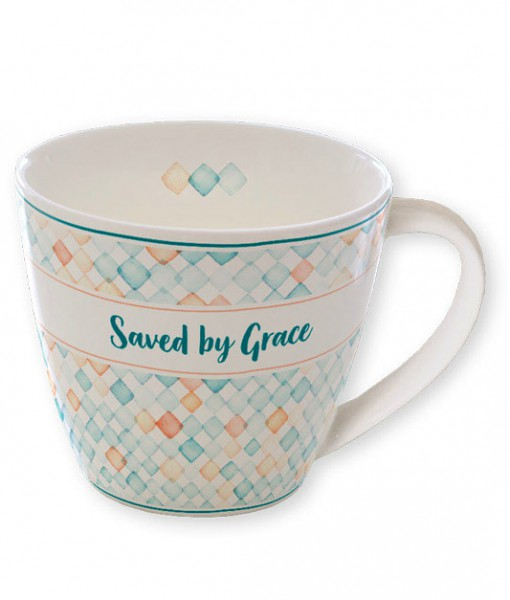 "Tasse ""Saved by Grace"""