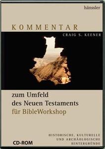 BWS-Modul Kommentar zum Umfeld des Neues Testaments CD-ROM für BibleWorkshop