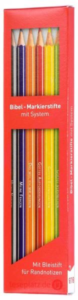 Bibel-Markierstifte mit System