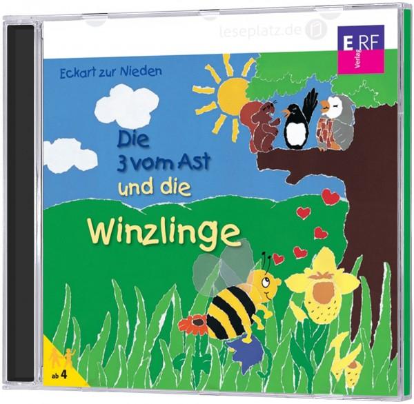Die 3 vom Ast ... und die Winzlinge - CD