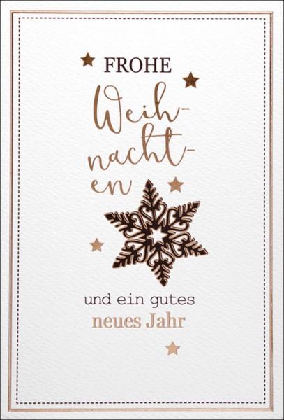 """Faltkarte """"Weihnachtsstern"""""""