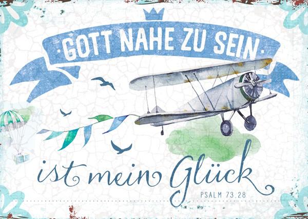 """Postkarte """"Mein Glück"""""""