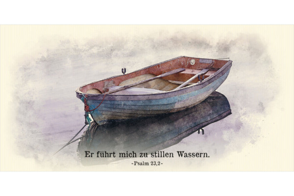 "Faltkarte Art 08 ""Ruderboot"""