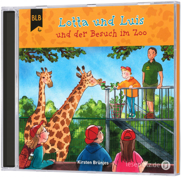 Lotta und Luis und der Besuch im Zoo - CD