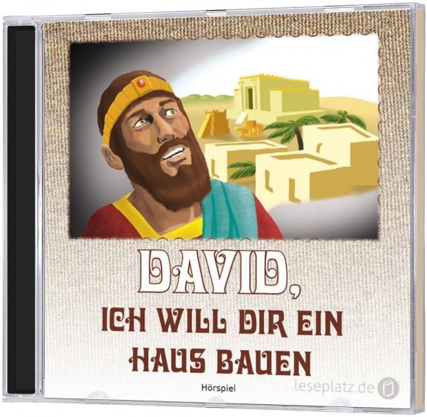David, ich will dir ein Haus bauen - CD