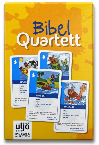 Kartenspiel ''Bibel-Quartett''