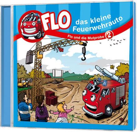 Flo - Das kleine Feuerwehrauto (2) - CD