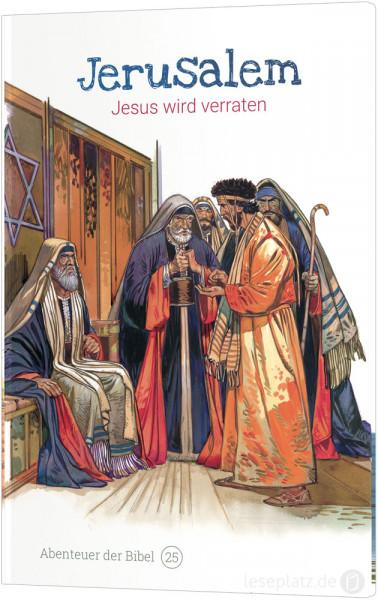 Jerusalem - Jesus wird verraten (25)