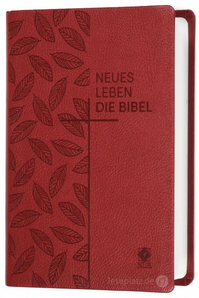 Neues Leben. Die Bibel - Taschenausgabe - Kunstleder rot