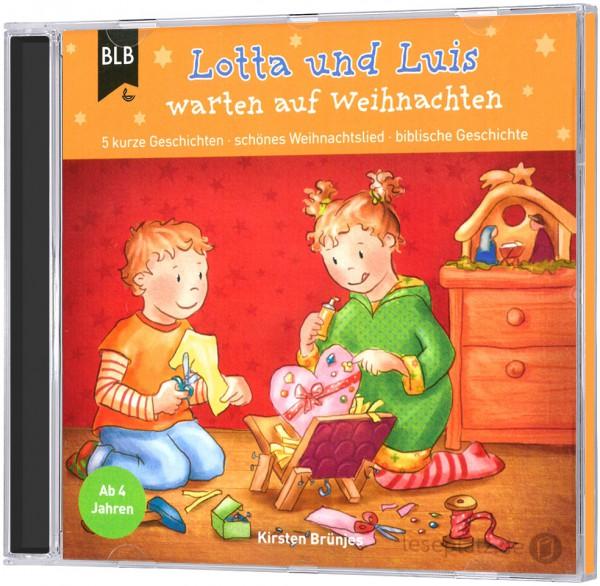 Lotta und Luis warten auf Weihnachten - CD