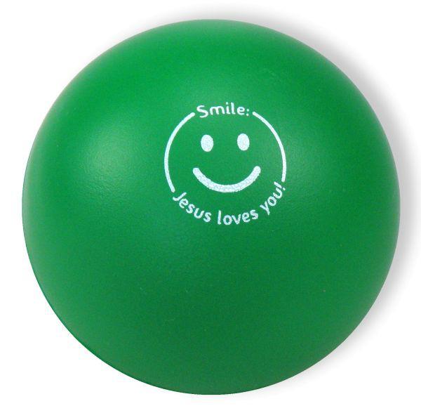 "Softball ""Smile - Jesus loves you!"""