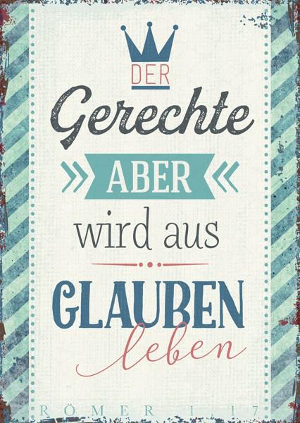 """Postkarte """"Der Gerechte"""""""