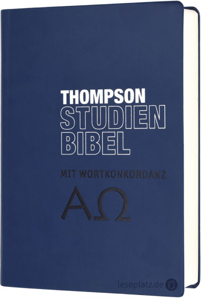 Thompson Studienbibel - ital.Kunstleder blau