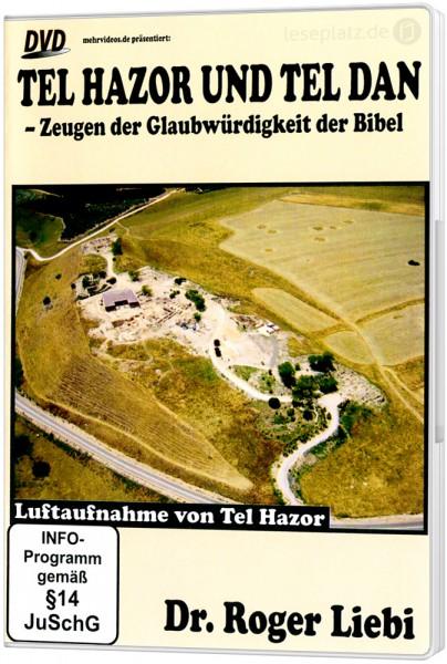Tel Hazor und Tel Dan - DVD Powerpoint-Vortrag von Dr. Roger Liebi