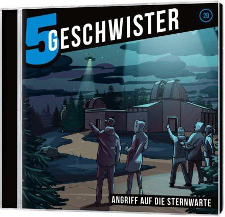 5 Geschwister CD (20) - Angriff auf die Sternwarte