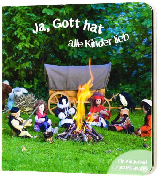 Ja, Gott hat alle Kinder lieb - Pappbuch