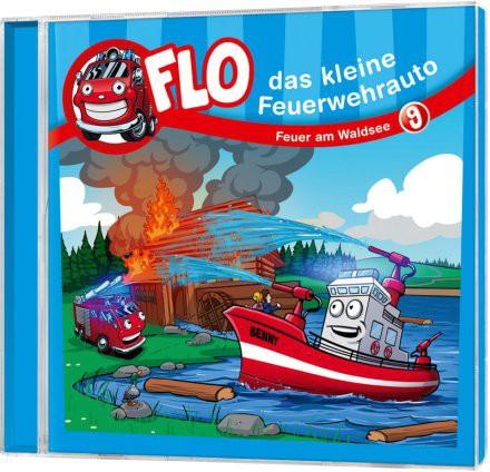 Flo - Das kleine Feuerwehrauto (9) - CD