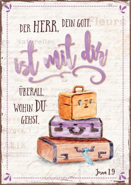 """Postkarte """"Der Herr, dein Gott"""""""