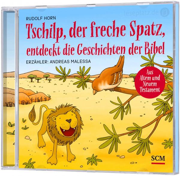 Tschilp, der freche Spatz, entdeckt die Geschichten der Bibel - Doppel-CD