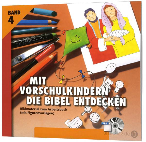 Mit Vorschulkindern die Bibel entdecken 4 - CD-ROM