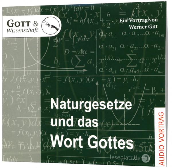 Naturgesetze und das Wort Gottes - CD