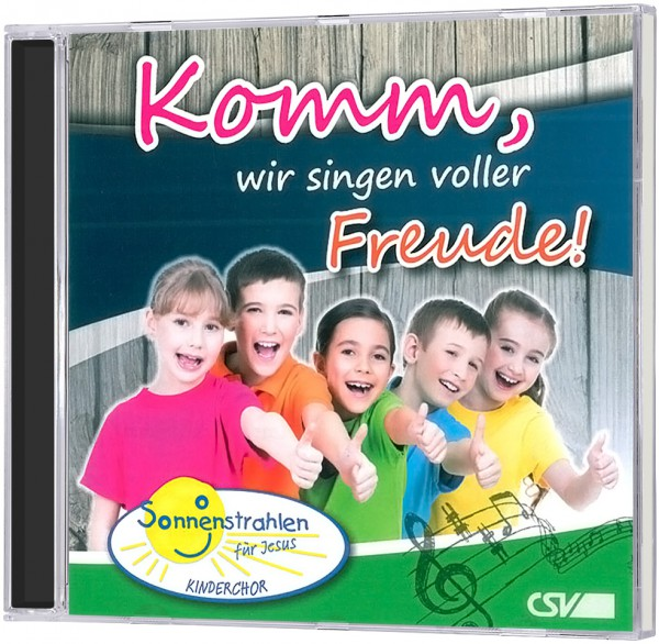 Komm, wir singen voller Freude! - CD