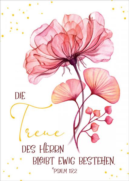 "Postkarte ""Treue des Herrn"""