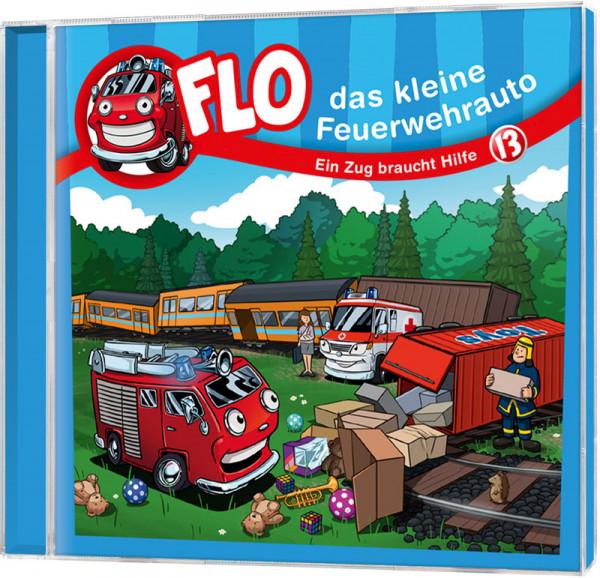 Flo - Das kleine Feuerwehrauto (13) - CD