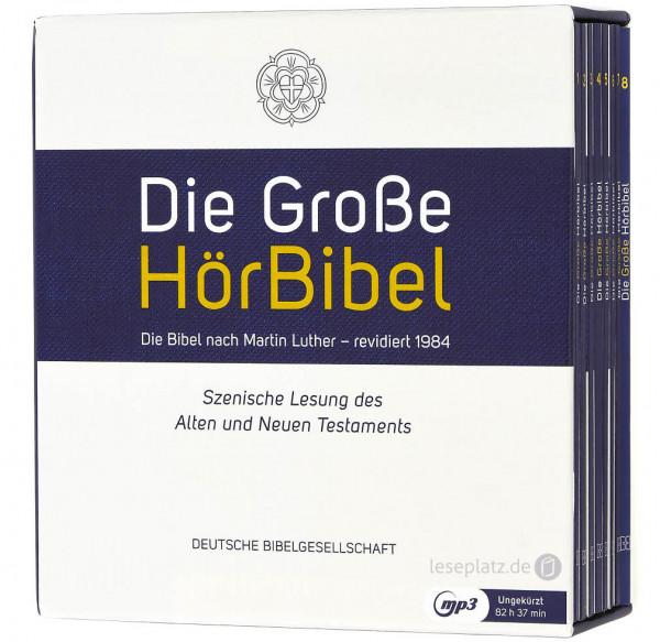 Die Große HörBibel - Luther 1984 (8 MP3-CDs)