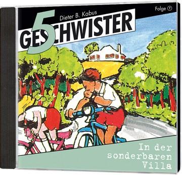 5 Geschwister CD (7) - In der sonderbaren Villa