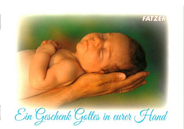 Ein Geschenk Gottes in eurer Hand - Verteilheft