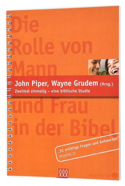 Die Rolle von Mann und Frau in der Bibel (Ein Auszug)