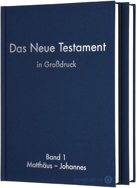 Elberfelder 2003 - Das Neue Testament in Großdruck (2 Bände)