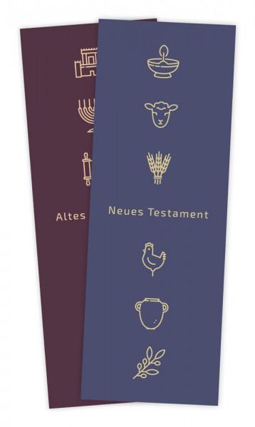 """Lesezeichen """"Bücher der Bibel"""""""