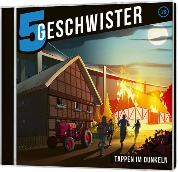 5 Geschwister CD (28) - Tappen im Dunkeln