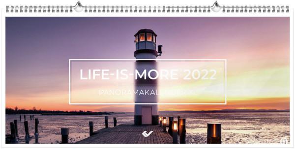 Life-is-more Panoramakalender XL 2022