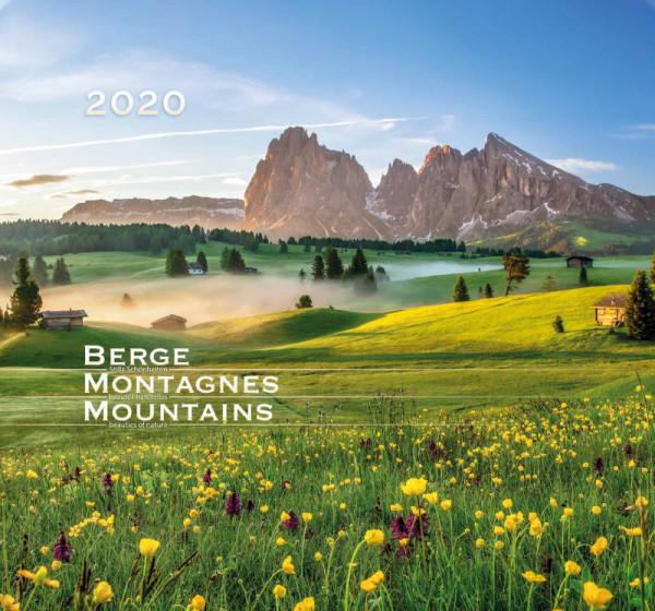 Berge 2020 - Wandkalender