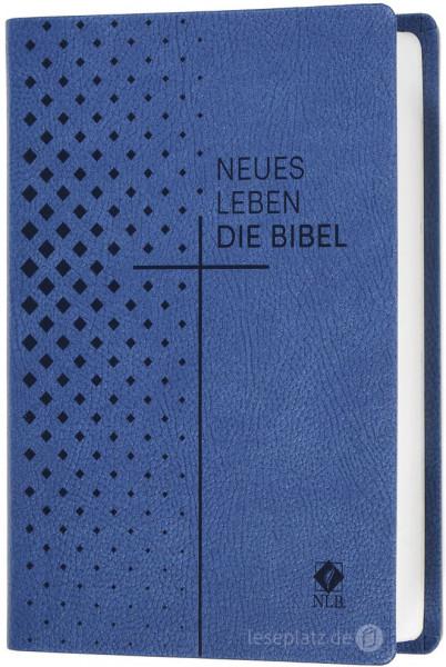 Neues Leben. Die Bibel - Taschenausgabe - Kunstleder blau