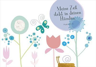 """Postkarte """"Meine Zeit steht in deinen Händen"""""""