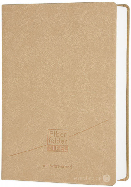Elberfelder Bibel 2006 mit Schreibrand / Kunstleder