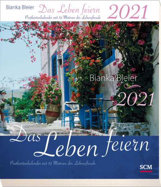 Das Leben feiern 2021 - Postkarten-Kalender