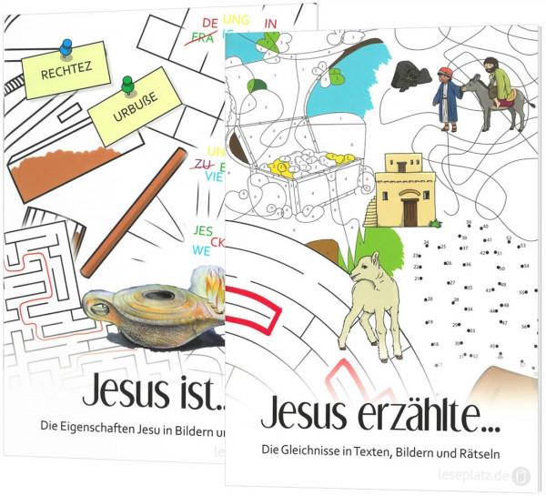 Jesus erzählt ... / Jesus ist ... - Paket
