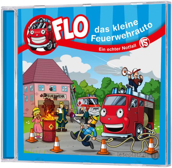 Flo - Das kleine Feuerwehrauto (15) - CD