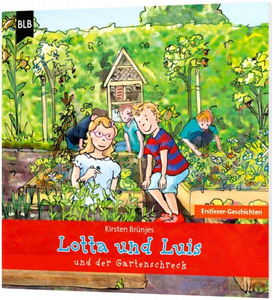 Lotta und Luis und der Gartenschreck (Heft)