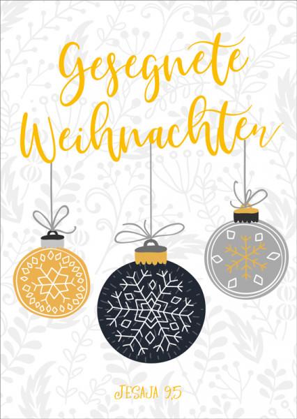 """Postkarte """"Gesegnete Weihnachten"""""""