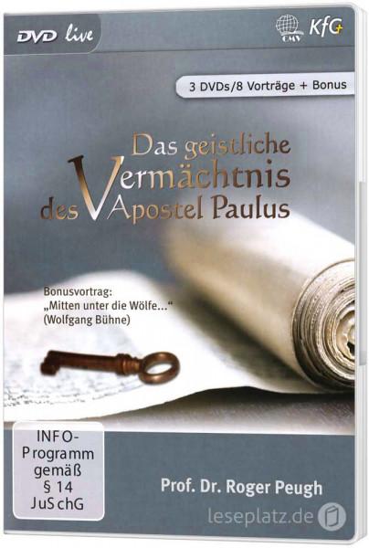 Das geistliche Vermächtnis des Apostel Paulus - DVD